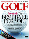 January 2008 Golf Magazine Cover