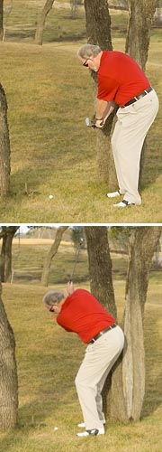 Dave Pelz: How to swing from trees