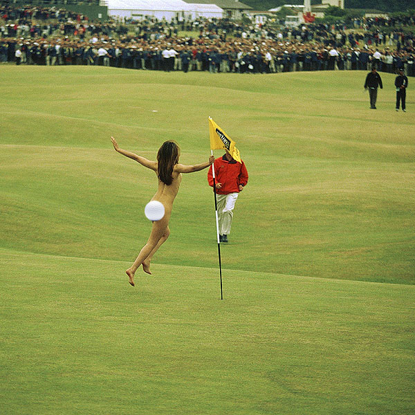 2000 British Open female streaker