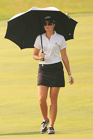 paula creamer hot. Paula Creamer battled the heat