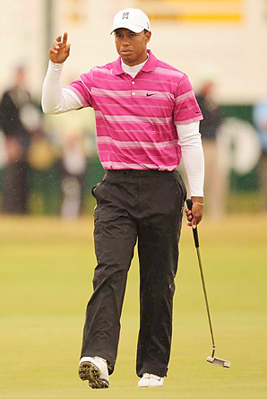 What's up with Tiger Woods?