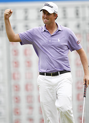 Webb Simpson wins Deutsche Bank Championship