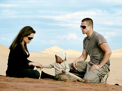 World's Most Beautiful Family | Angelina Jolie, Brad Pitt