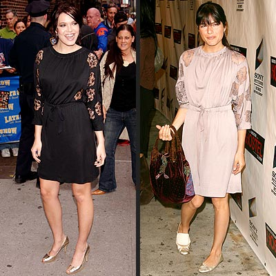 Fashion Faceoff | Mandy Moore, Selma Blair