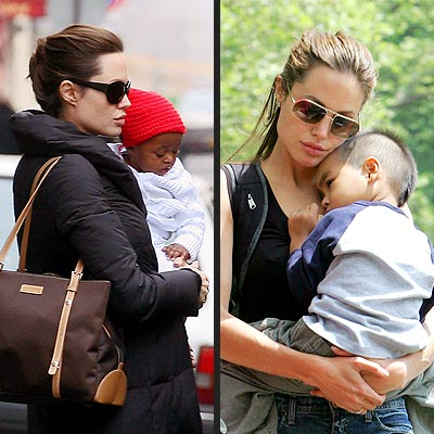 Hollywood's Gorgeous Moms | Angelina Jolie