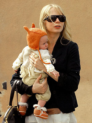 Hollywood's Gorgeous Moms | Michelle Williams