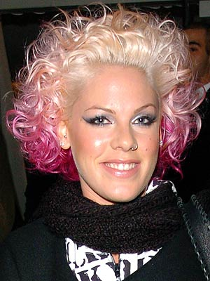 Pink has had a 'Help' button tattooed