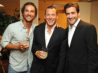 Lance Gets Bawdy at the ESPY Awards| Jake Gyllenhaal, Matthew McConaughey, Lance Armstrong