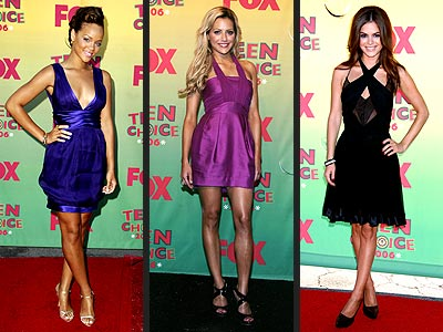 Looks We Loved at the Teen Choice Awards. Bucking the trend of dressing down ...