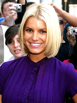 Jessica Simpson Fine Straight Hair