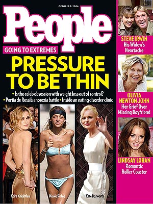 This week's cover story of PEOPLE magazine deals with a hot-button topic