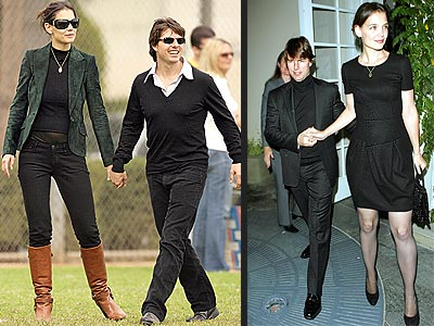 katie holmes height feature