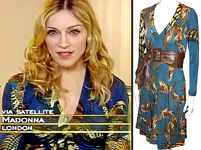 Issa Fashion Dresses on Madonna   S Oprah Outfit     Style News   Stylewatch   People Com