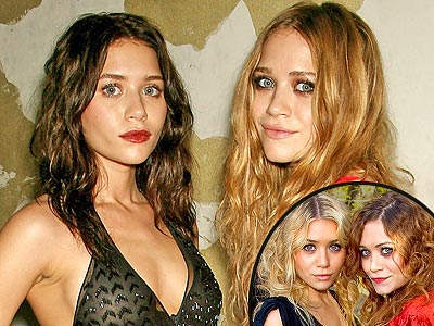 After years of looking virtually identical MaryKate and Ashley Olsen
