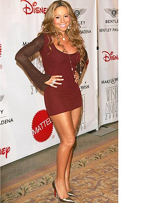 Short  Dress on Mariah Oh Meter  Rate Her Look      Style News   Stylewatch   People