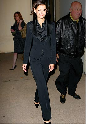 we've noticed in a tuxedo lately — from Kirsten Dunst to Penelope Cruz,