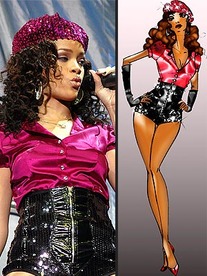 rihanna hot pants. Who#39;s Behind Rihanna#39;s