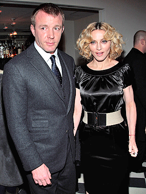 Madonna y Guy Ritchie