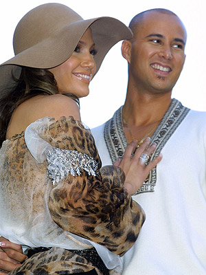 Jennifer Lopez y Chris Judd