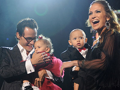 Marc Anthony, Emme, Max, Jennifer López
