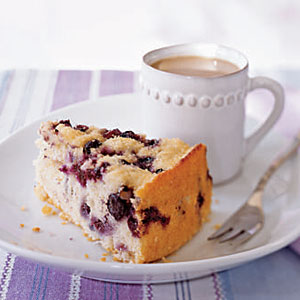 Blueberry Coffee Cake from Cooking Light