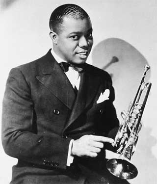 a biography of louis armstrong an influential american jazz musician Louis armstrong is now considered one of the most revolutionary and influential  musicians in american music history new book by byu.