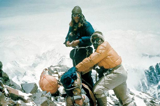 mount everest sir edmund hillary