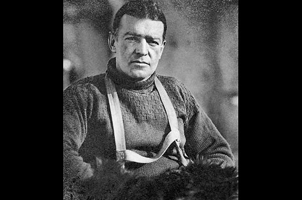 ernest shackleton north pole