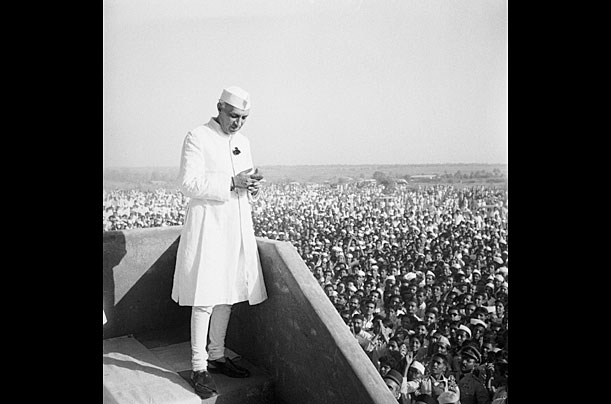 Prime Minister of India Jawaharlal Nehru