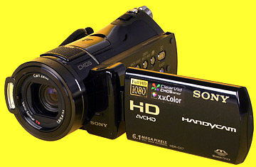 sony handycam hdr cx7 best inventions of 2007 time rh content time com Sony Digital Camcorder Sony Camcorder Manuals