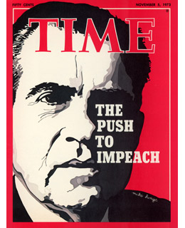 the history and results of the watergate scandal Richard m nixon, on the verge of impeachment as a result of the watergate scandal , became the first us president to resign from office on august 9, 1974 (the watergate sca ndal began on.