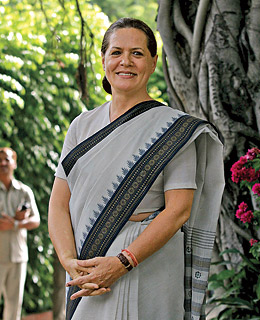 sonia gandhi the time time dek