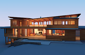 Cedar Home Designs lindal cedar homes for dwell home collection  the green design