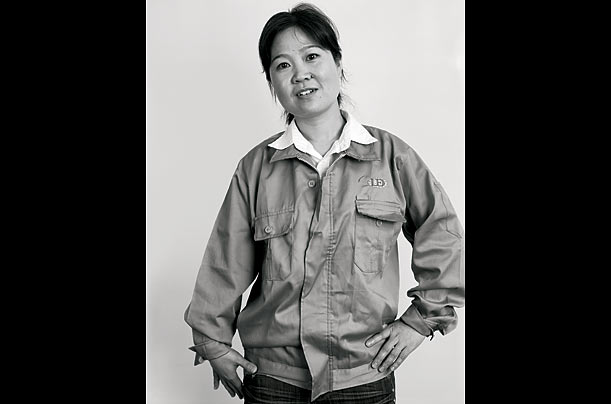 Xiao Hongxia, 31, from Shaoyang, Hunan