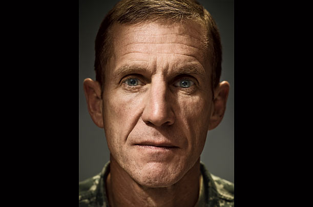 General Stanley McChrystal in Afghanistan