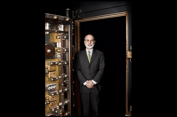Chairman of the Federal Reserve Bank Ben Bernanke The 56-year-old chairman of the Fed is TIME's 2009 Person of the Year Photographs by Dan Winters for TIME