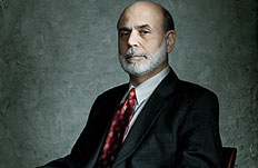 Ben Bernanke chairman of the federal reserve board of governors person of the year 2009