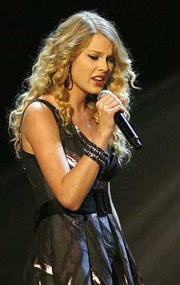 Taylor Swift The 2009 Time 100 Finalists Time