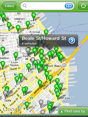 Zipcar - 50 Best iPhone Apps 2011 - TIME on