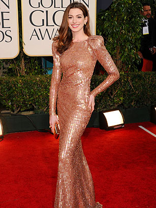 anne hathaway golden globes fashion 5 stars who looked