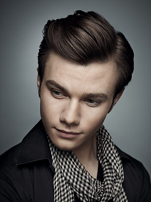 Chris Colfer - Photo: Justin Stephens for TIME