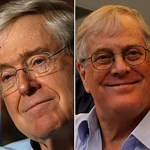 Charles and david koch the 2011 time 100 poll time for The coke brothers tea party