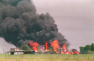 Top 10 End of the World Prophecies Flames engulf the Branch Davidian compound in this April 19, 1993 file photo, in Waco, Texas.