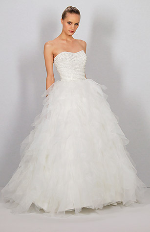 Dennis Basso for Kleinfeld - Spring Wedding Wear: From Bridal ...