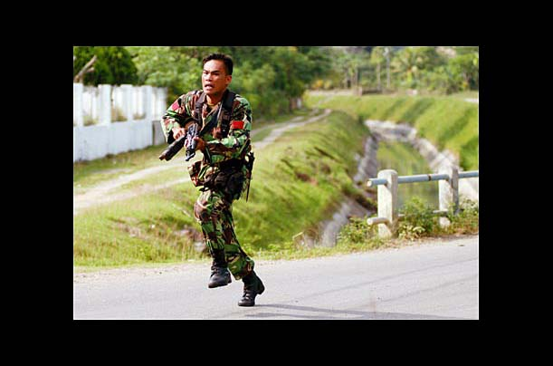 Indonesia's military offensive in Aceh