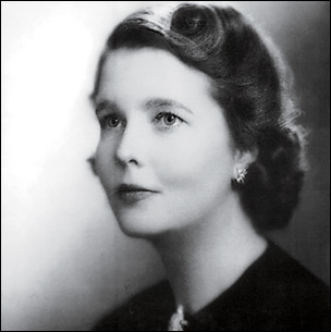His mother Rosemary Forbes Kerry in 1940
