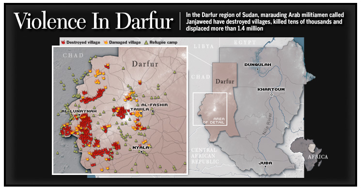 thesis on genocide in darfur