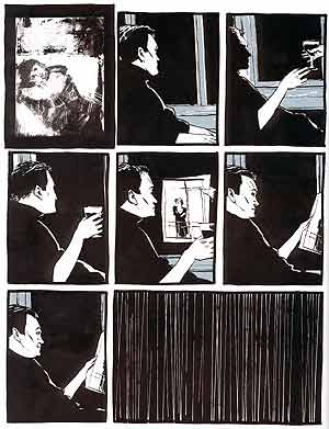 ... his art in Dave McKean's \x26quot;Cages\x26quot;