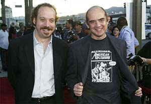 Paul Giamatti and Harvey Pekar