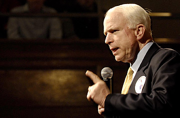 mccain photo essay Consider the lobster (essays) (2005) mccain's promise: aboard the straight talk express with john mccain and a whole bunch of actual reporters.